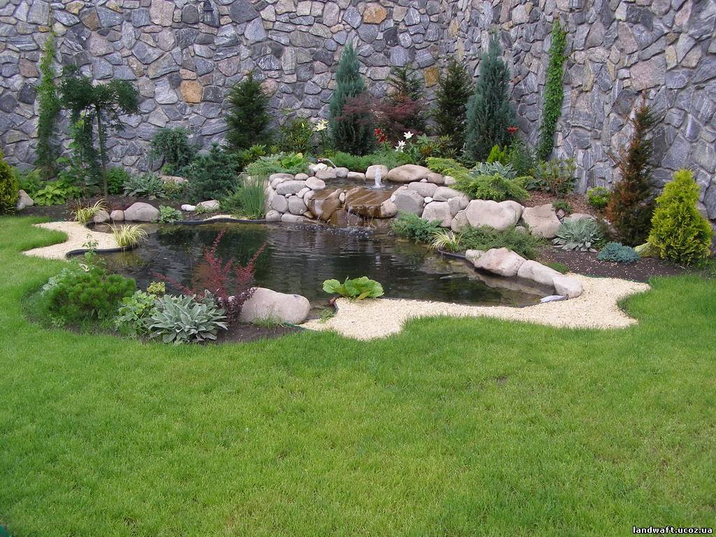 Декоративные камни для ландшафтного дизайна  фото